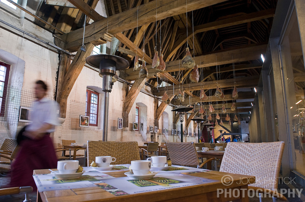 The Groot Vleeshuis market and restaurant in Ghent, Belgium, on Friday, Sept. 12, 2008. (Photo © Jock Fistick)
