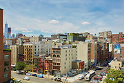 View over the Bowery from 5 East 3rd Street, 9th floor