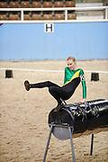 Riding Develops Abilities Western Australia 2013 Vaulting Championships, Brigadoon.