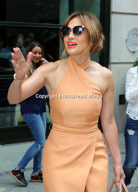June 20, 2016 - New York, New York, United States - Actress Jennifer Lopez went to a downtown hotel on June 20 2016 in New York City  ©Exclusivepix Media