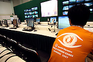 MEDIA CENTRE BEFORE SPECIAL OLYMPICS WORLD SUMMER GAMES SHANGHAI 2007..SPECIAL OLYMPICS IS AN INTERNATIONAL ORGANIZATION DEDICATED TO EMPOWERING INDIVIDUALS WITH INTELLECTUAL DISABILITIES..SHANGHAI , CHINA , SEPTEMBER 30, 2007.( PHOTO BY ADAM NURKIEWICZ / MEDIASPORT )..