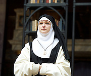 The Heresy of Love <br /> By Helen Edmundson<br /> at Shakespeare's Globe Theatre, London, Great Britain <br /> press photocall <br /> 4th August 2015 <br /> <br /> Directed by<br /> John Dove<br /> <br /> <br /> <br /> Naomi Frederick<br /> Sor Juana<br /> <br /> <br /> Photograph by Elliott Franks <br /> Image licensed to Elliott Franks Photography Services