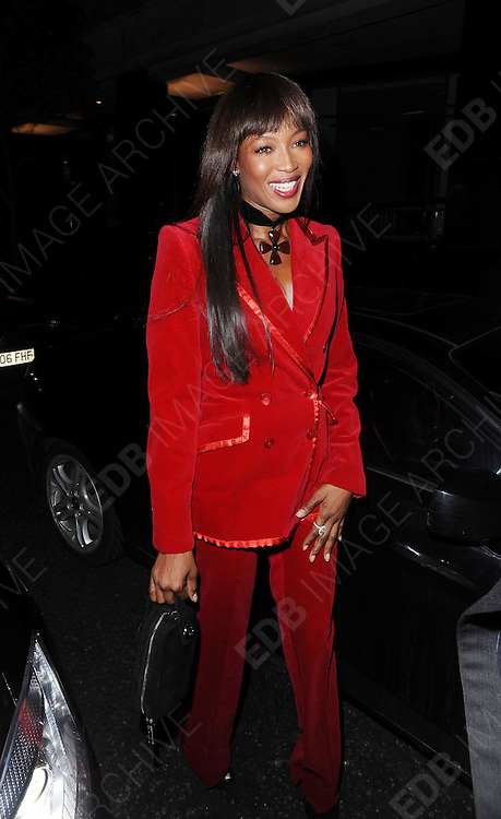 12.FEBRUARY.2012. LONDON<br /> <br /> NAOMI CAMPBELL AT THE WEINSTEIN COMPANY AND ENTERTAINMENT FILM DISTRIBUTION POST BAFTA EVENT AT THE LE BARON, EMBASSY CLUB, LONDON<br /> <br /> BYLINE: EDBIMAGEARCHIVE.COM<br /> <br /> *THIS IMAGE IS STRICTLY FOR UK NEWSPAPERS AND MAGAZINES ONLY*<br /> *FOR WORLD WIDE SALES AND WEB USE PLEASE CONTACT EDBIMAGEARCHIVE - 0208 954 5968*