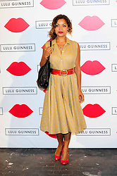 """Lulu Guinness Paint Project.<br /> Antonia Rose Thompson attends the """"Lulu Guinness paint project in collaboration with beautiful crime and their artist Joseph Steele"""" Held at the old sorting office, Oxford street,<br /> London, United Kingdom<br /> Thursday, 11th July 2013<br /> Picture by Chris  Joseph / i-Images"""