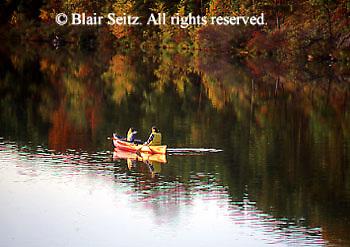 PA landscapes Fishing PA Park Lake,
