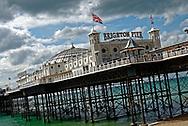 Brighton Pier, Brighton, Sussex, Britain.