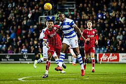 Korey Smith of Bristol City is challenged by Nedum Onuoha of Queens Park Rangers - Rogan/JMP - 23/12/2017 - Loftus Road - London, England - Queens Park Rangers v Bristol City - Sky Bet Championship.