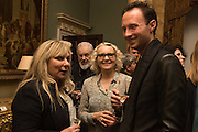 HELEN FIELDING; D.J. CONNELL; JOHN FRANKLIN,, Everyman 25th Anniversary party, Spencer House. St. James' Place. London. SW1. 26 October 2016