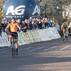 04-11-2018: Wielrennen: EK veldrijden: Rosmalen <br />Clean sweep for the Dutch women at the European cyclocross champs. Annemarie Worst 1th, Marianne Vos 2md and Denise Bensema 3th