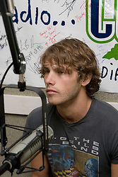 "Jon McLaughlin performed for the Charlottesville-based radio station 106.1FM The Corner on March 29, 2007 in support of his upcoming album ""Indiana""."