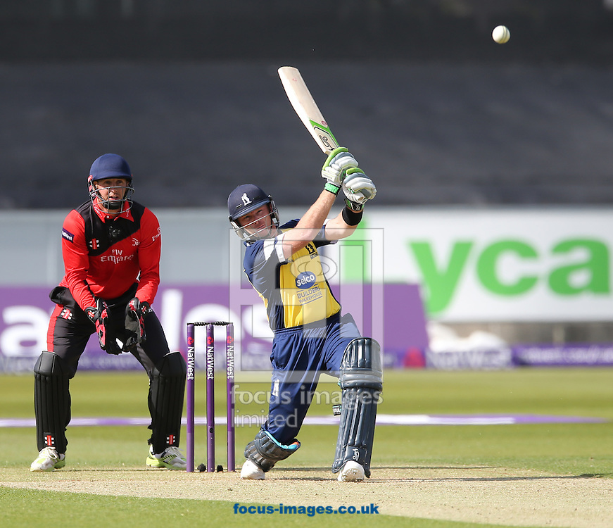 Ian Bell of Birmingham Bears batting during the Natwest T20 Blast match at Emirates Durham ICG, Chester-le-Street<br /> Picture by Simon Moore/Focus Images Ltd 07807 671782<br /> 06/06/2015