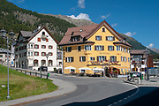 Samedan, Engadin valley, Switzerland