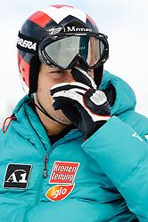 22.01.2011, Hahnenkamm, Kitzbuehel, AUT, FIS World Cup Ski Alpin, Men, Downhill, im Bild // Michael Walchhofer (AUT) // during the men downhill race at the FIS Alpine skiing World cup in Kitzbuehel, EXPA Pictures © 2011, PhotoCredit: EXPA/ S. Zangrando