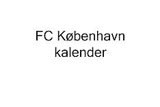 20131025 FC København kalender billeder