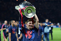 Celebration Esultanza Lionel Messi <br /> Berlino 06-06-2015 OlympiaStadion  <br /> Juventus Barcelona - Juventus Barcellona <br /> Finale Final Champions League 2014/2015 <br /> Foto Matteo Gribaudi/Image Sport/Insidefoto