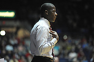 "Ole Miss vs. Alabama head coach Anthony Grant at the C.M. ""Tad"" Smith Coliseum in Oxford, Miss. on Wednesday, February 26, 2014. (AP Photo/Oxford Eagle, Bruce Newman)"