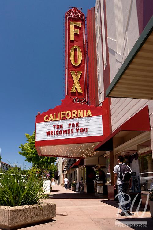Fox California Theater, Oldtown Salinas, California