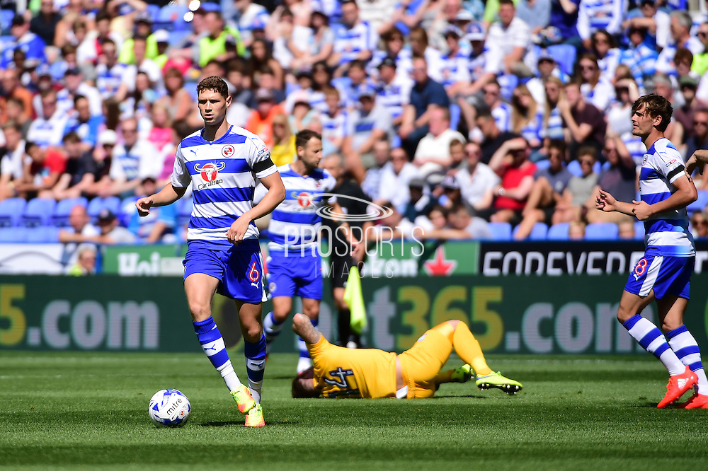 Reading midfielder George Evans (6) in action during the EFL Sky Bet Championship match between Reading and Preston North End at the Madejski Stadium, Reading, England on 6 August 2016. Photo by Jon Bromley.