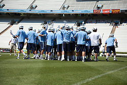 26 April 2009: North Carolina Tar Heels during a 15-13 loss to the Duke Blue Devils during the ACC Championship at Kenan Stadium in Chapel Hill, NC.