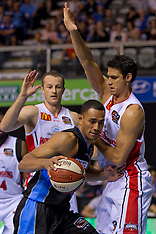Auckland-Basketball, Breakers v Wollongong