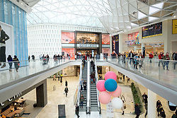 © Licensed to London News Pictures. 20/03/2018. London, UK. Westfield London today launches the first phase opening of its £600m expansion, 6-months ahead of schedule. Photo credit: Ray Tang/LNP