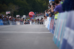 The final sprint at Grand Prix de Plouay - Lorient Agglomération WNT 2018. A 125.5 km road race in Plouay, France on August 25, 2018. Photo by Sean Robinson/velofocus.com