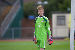 NEWPORT, WALES - Thursday, August 4, 2016: North Wales Academy Boys' goalkeeper Owen Hallmark during the Welsh Football Trust Cymru Cup 2016 at Newport Stadium. (Pic by Paul Greenwood/Propaganda)