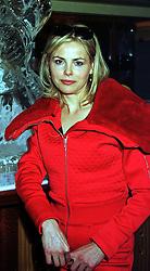 JULIA STEPHENSON grandaughter of beef baron Sir Derek Vestey, at a party in London on 28th October 1999.MYG 5