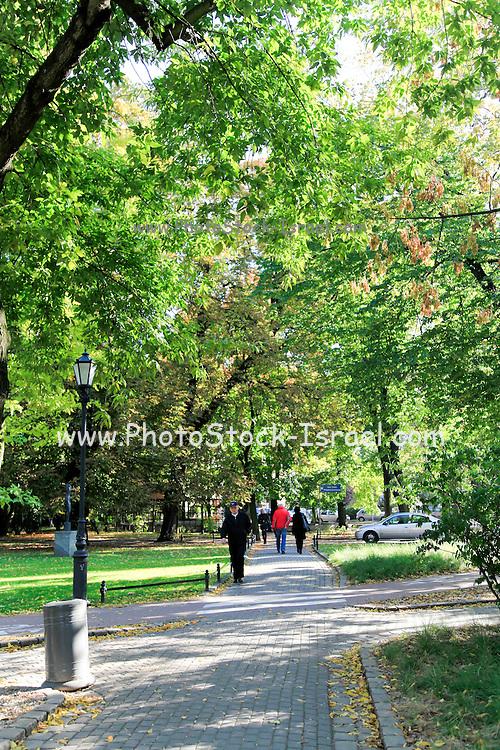 Urban park Sopot, Poland