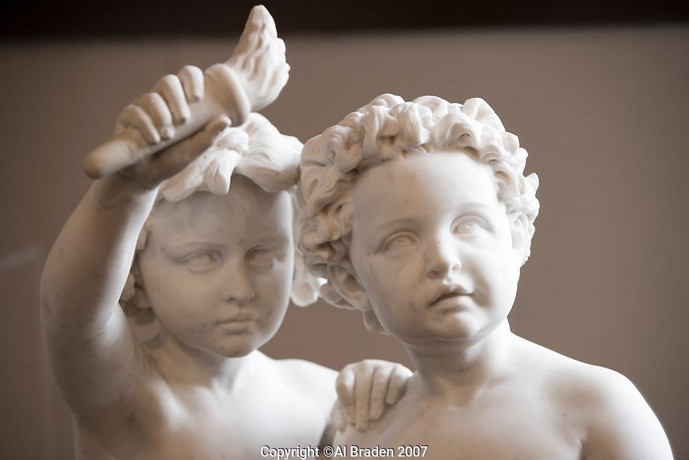 Sursum Sculpture at Elizabet Ney Museum, Austin, Texas.