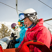Steep & Deep participants build upon each other's strengths to become better skiers.