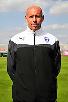 Pascal Landais - 05.09.2014 - Photo officielle Niort - Ligue 2 2014/2015<br /> Photo : Philippe Le Brech / Icon Sport