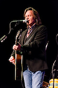 Jeff Hanna on guitar and vocals during the performance of Nitty Gritty Dirt Band at the Landis Theater in Vineland, NJ.