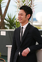 Actor Tsumabuki Satoshi at the The Assassin film photo call at the 68th Cannes Film Festival Thursday May 21st 2015, Cannes, France.
