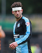 Joe Jacobson during the Sky Bet League 2 match between Barnet and Wycombe Wanderers at Underhill Stadium, London, England on 15 August 2015. Photo by Bennett Dean.