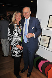 DAVID & JOANNA FORBES at a party to celebrate the publication of 'Garden' by Randle Siddeley held at Linley, 60 Pimlico Road, London on 24th May 2011.