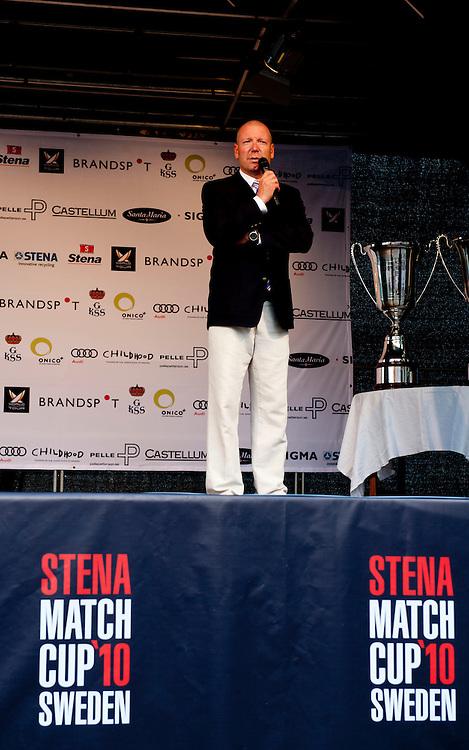 Opening ceremony - Stena Match Cup Sweden 2010, Marstrand-Sweden. World Match Racing Tour. photo: Loris von Siebenthal - myimage