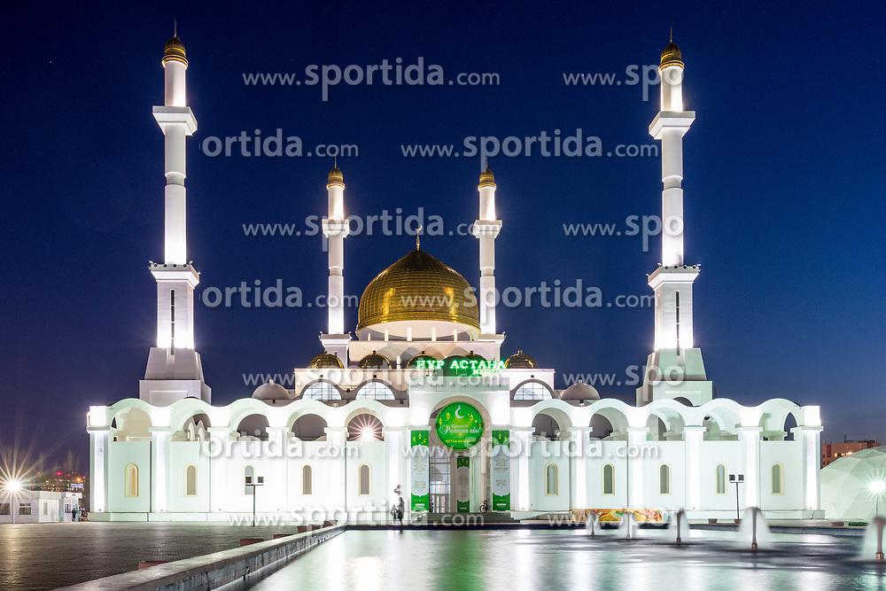 Nur Astana Mosque at IIHF World Championship DIV. I Group A Kazakhstan 2019, on May 4, 2019 in Barys Arena, Nur-Sultan, Kazakhstan. Photo by Matic Klansek Velej / Sportida