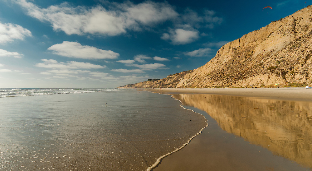One of a series of surfing and beach scene photographs taken by Matthew Butterfield on Blacks Beach near San Diego, California, USA.
