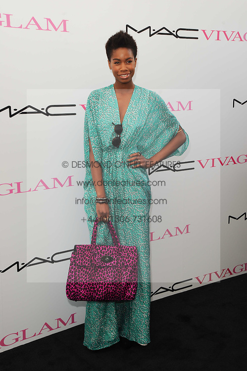 Tolula Adeyemi at the MAC VIVA GLAM discussion hosted by Sharon Osbourne to promote MAC's latest fundraising range with all proceeds donated to HIV/AIDs charities via the MAC AIDS Fund, at Il Bottaccio, 9 Grosvenor Place, London on 1st March 2010.
