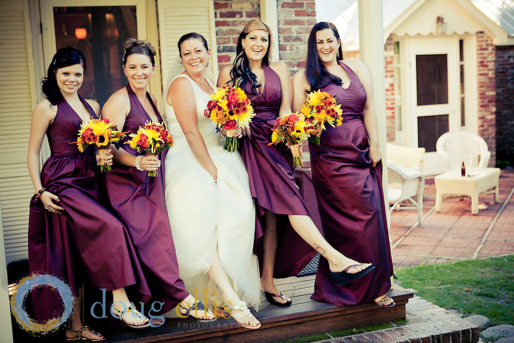 Outdoor wedding photos at a ranch in Nevada, by location wedding photographer Doug Ellis