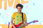 2019, August 25. Almere Strand, the Netherlands. Dirk Scheele at the Nickelodeon Family Festival.