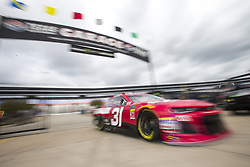 April 6, 2018 - Ft. Worth, Texas, United States of America - April 06, 2018 - Ft. Worth, Texas, USA: Ryan Newman (31) comes in from practice for the O'Reilly Auto Parts 500 at Texas Motor Speedway in Ft. Worth, Texas. (Credit Image: © Stephen A. Arce Asp Inc/ASP via ZUMA Wire)