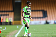 Forest Green Rovers Reuben Reid(26) on the ball during the EFL Sky Bet League 2 match between Port Vale and Forest Green Rovers at Vale Park, Burslem, England on 23 March 2019.