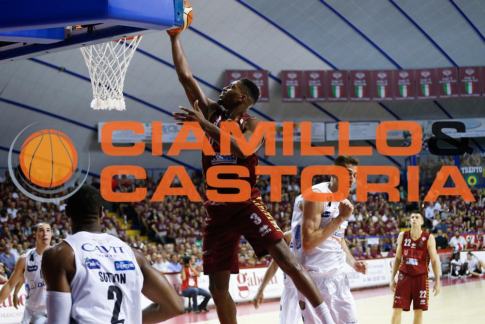 Ejim Melvin<br /> Umana Reyer Venezia - Dolomiti Energia Aquila Basket Trento<br /> Lega Basket Serie A 2016/17 Finali Gara 01<br /> Venezia, 10/06/2017<br /> Foto Ciamillo-Castoria / M. Brondi