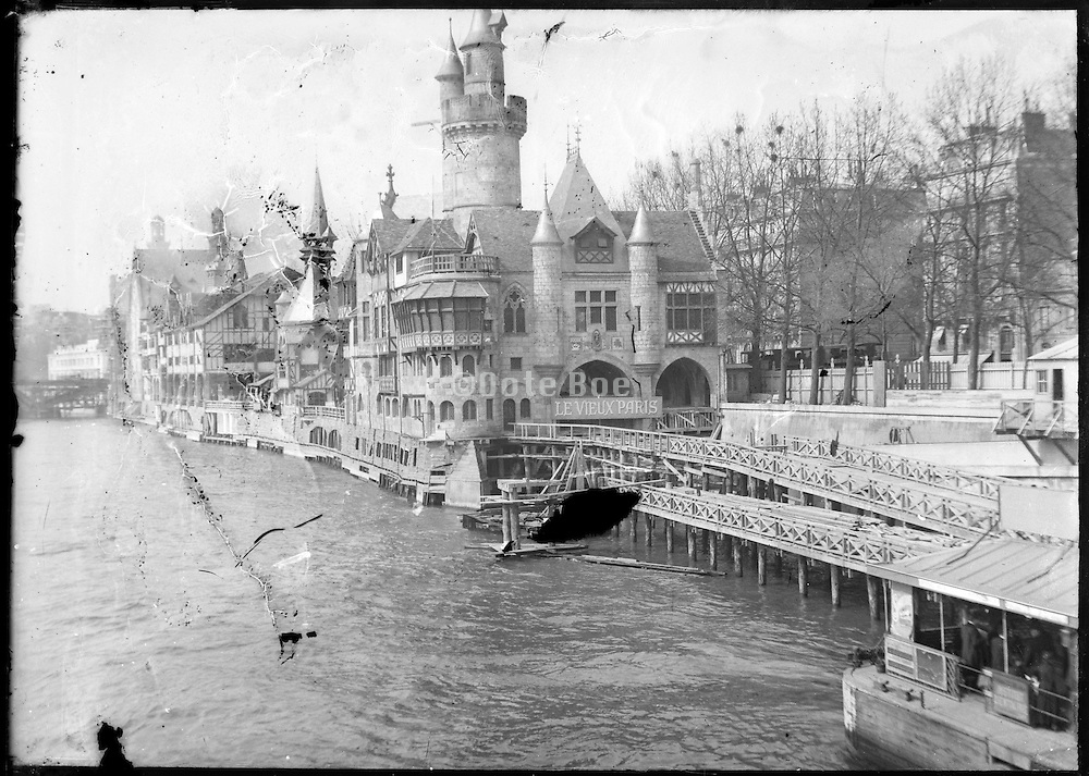 Le Vieux Paris on the right bank Exposition Universelle de Paris, 1889 France