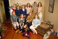 Birmingham, Alabama Family Photographer Christine Prichard photographed The Hall Family and The Ward Family the day after Christmas 2011.