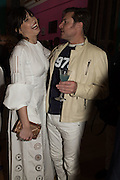 DAISY LOWE; SIMON LE BON, Royal Academy Summer exhibition private view. Piccadilly. London. 3 June 2015