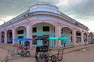 Bicitaxis in Artemisa, Cuba.