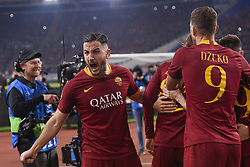 February 12, 2019 - Roma, Roma, Italia - Foto Luciano Rossi/AS Roma/ LaPresse.12/02/2019 Roma (Italia).Sport Calcio.AS Roma - Porto  .Uefa Champions League 2018 2019 - Stadio Olimpico di Roma.Nella foto: Konstantinos Manolas..Photo  Luciano Rossi/AS Roma/ LaPresse.12/02/2019 Roma (Italia).Sport Soccer.AS Roma - Porto   .Uefa Champions League 2018 2019 - Olimpic Stadium of Roma (Italy).In the pic: Konstantinos Manolas (Credit Image: © Luciano Rossi/Lapresse via ZUMA Press)